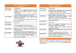 X jornada instalaciones y desinfeccion de explotaciones avicolas 19 y 20 de febrero 2019.